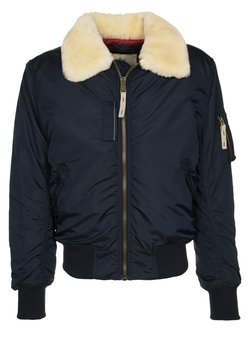 Alpha Industries - INJECTOR III - Blouson Bomber - rep. blue