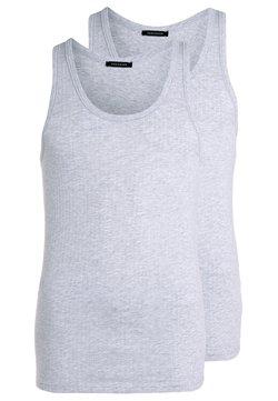 Schiesser - 2 PACK - Unterhemd/-shirt - grau meliert