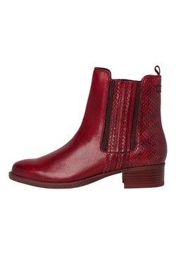 Tamaris - Ankle Boot - scarlet/snake