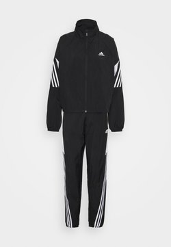 adidas Performance - GAMETI SET - Trainingsanzug - black/white