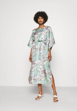 Tory Burch - ROBINSON PRINTED DRESS - Freizeitkleid - hibiscus