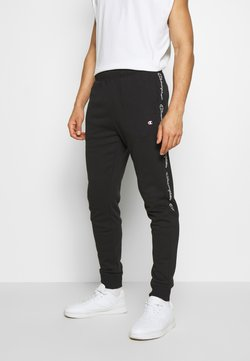 Champion - TAPE PANTS - Jogginghose - black
