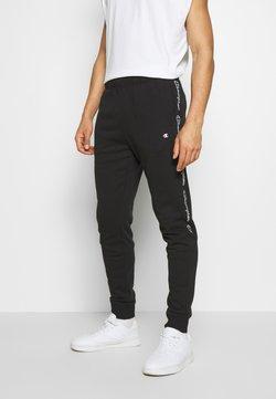 Champion - TAPE PANTS - Verryttelyhousut - black