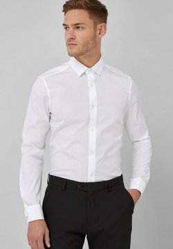 Next - COTTON SHIRT-SLIM FIT DOUBLE CUFF - Businesshemd - white