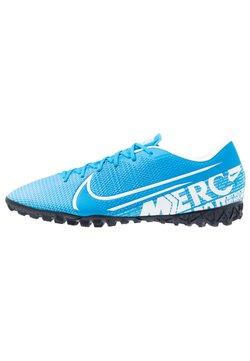 Nike Performance - MERCURIAL VAPOR 13 ACADEMY TF - Korki Turfy - blue hero/white/obsidian