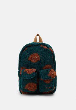 TINYCOTTONS - TINY DOG SMALL BACKPACK - Reppu - dark green/sienna