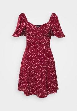 Fashion Union - CUTIE - Robe d'été - burgundy