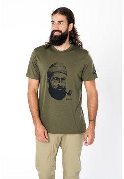 super.natural - T-Shirt print - olivgrün