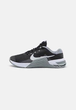 Nike Performance - METCON 7 UNISEX - Kuntoilukengät - black/pure platinum/particle grey/white
