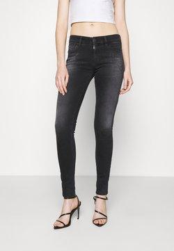 Diesel - SLANDY - Jeans Skinny Fit - dark grey