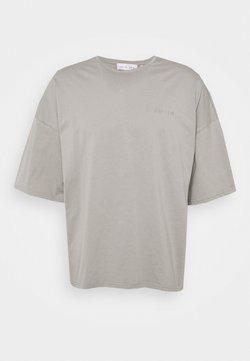 NU-IN - OVERSIZED CREW NECK - T-paita - grey