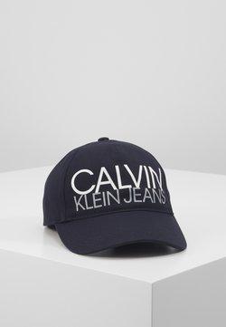 Calvin Klein Jeans - CUT OFF LOGO BASEBALL  - Lippalakki - blue