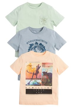 Next - 3 PACK  - T-shirt med print - multi-coloured