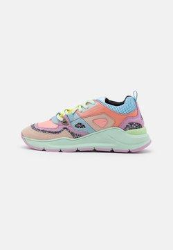 CHIARA FERRAGNI - RUNNING PATCHWORK - Sneakers basse - multicolors