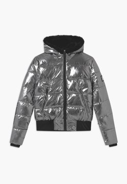 SuperRebel - BASIC METALIC GIRLS - Snowboardjacke - silver oxid