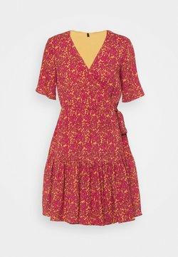 YAS Petite - YASRISLO WRAP DRESS - Robe d'été - pink