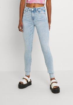American Eagle - HI RISE - Jeans fuselé - worn out blue