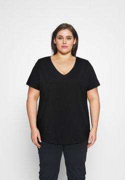Anna Field Curvy - T-Shirt basic - black