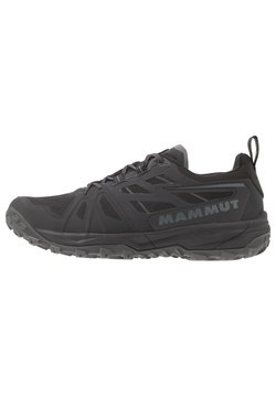 Mammut - SAENTIS LOW MEN - Hikingschuh - black/titanium