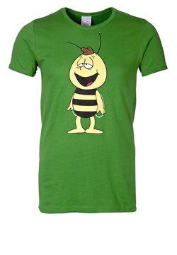 LOGOSHIRT - BIENE MAJA - WILLI - T-Shirt print - light olive