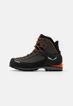 Salewa - MS CROW GTX - Mountain shoes - wallnut/fluo orange