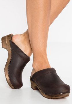 Sanita - CHRISSY OPEN - Clogs - antique brown