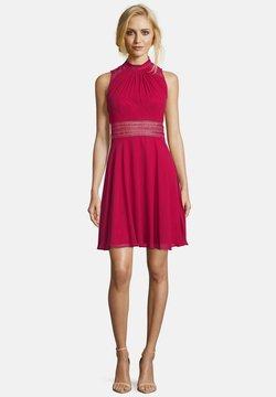 Vera Mont - MIT SPITZENEINSATZ - Cocktailkleid/festliches Kleid - rot