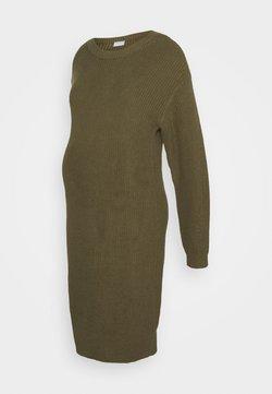 Pieces Maternity - PCMSIMMY  - Vestido de punto - burnt olive