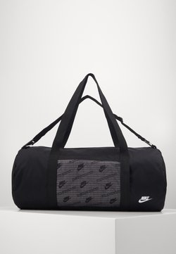 Nike Sportswear - HERITAGE DUFFLE  - Sporttasche - black/black/white