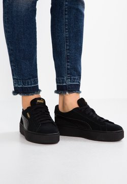 Puma - VIKKY STACKED - Matalavartiset tennarit - black