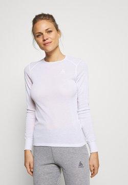 ODLO - CREW NECK ACTIVE WARM - Camiseta interior - white