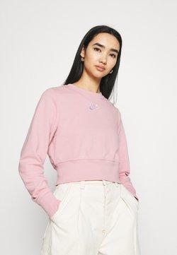 Nike Sportswear - AIR CREW  - Sweatshirt - pink glaze/white