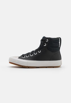 Converse - CHUCK TAYLOR ALL STAR BERKSHIRE UNISEX - Sneakers high - black/pale putty