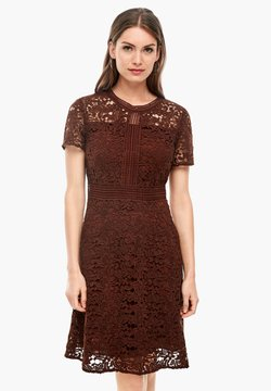 s.Oliver BLACK LABEL - Cocktailkleid/festliches Kleid - brown