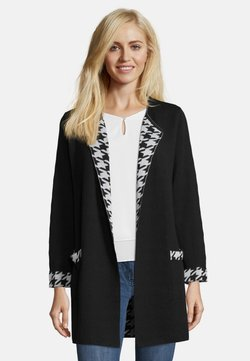 Betty Barclay - Strickjacke - black/white