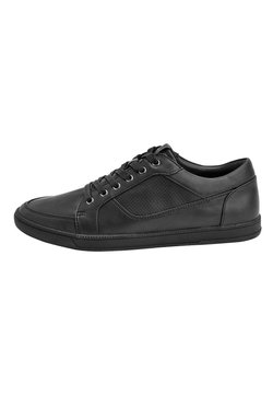 Next - TAN PERFORATED TRAINERS - Sneaker low - black