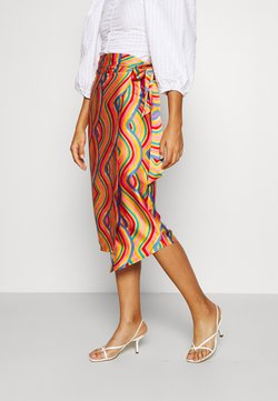 Never Fully Dressed - MULTI USE RAINBOW JASPRE SKIRT - Jupe crayon - multi