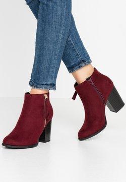 New Look Wide Fit - WIDE FIT DASSEL  - Ankelboots - dark red