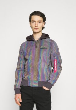 Alpha Industries - RAINBOW REFLECTIVE - Giubbotto Bomber - rainbow/reflective