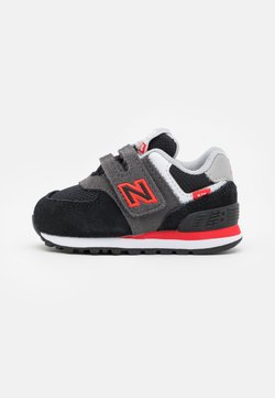 New Balance - IV574SM2 - Matalavartiset tennarit - black