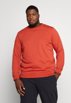 Urban Classics - BASIC TERRY CREW  - Sweatshirt - burned red