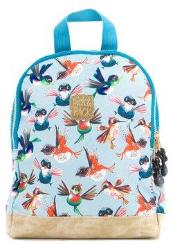 pick & PACK - BIRDS RUCKSACK XS - KINDERRUCKSACK VÖGEL - Reppu - blau