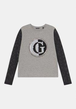 Guess - JUNIOR - Langarmshirt - light heather grey