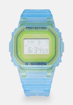 G-SHOCK - SKELETON - Montre à affichage digital - blue