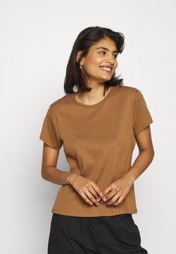JUST FEMALE - MONYA TEE - Basic T-shirt - trush