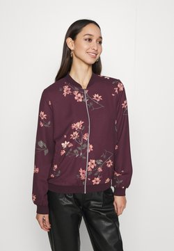 Vero Moda - VMLALLIE - Bomber Jacket - plum perfect
