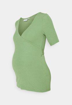 MAMALICIOUS - MLKOLETTE TESS - T-shirt med print - turf green