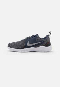 Nike Performance - FLEX EXPERIENCE RN 10 - Zapatillas de running neutras - thunder blue/pure platinum/black/white/chile red