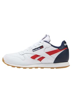 Reebok Classic - CLASSIC LEATHER SHOES - Sneakers laag - white