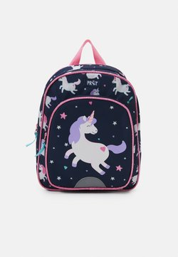 Kidzroom - BACKPACK PRÊT LITTLE SMILES UNISEX - Ryggsäck - navy